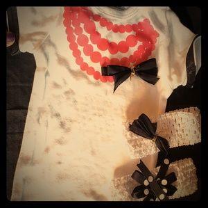 Girls Embellished Onesies, New